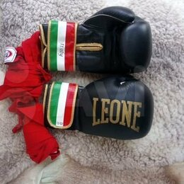 Боксерские перчатки - боксерские перчатки 12 оз с бинтами, 0