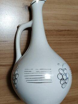 Кувшины и графины - Грузинский кувшин для вина (22см) и 3 стопки, 0