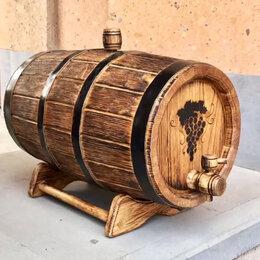 Бочки, кадки, жбаны - Бочка дубовая (барилка) 10 л для алкогольных напитков, 0