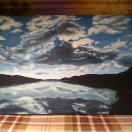 """Картины, постеры, гобелены, панно - Картина """"Небо"""", 0"""