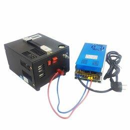 Воздушные компрессоры - Компрессор портативный 12В (220В) на 300 бар…, 0