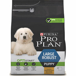 Товары для сельскохозяйственных животных - Корм Purina Pro Plan Optistart для щенков крупных , 0