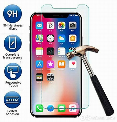 Защитное стекло Apple iPhone XR по цене 150₽ - Защитные пленки и стекла, фото 0