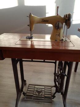 Швейные машины - Чайка швейная  ножная машинка, 0