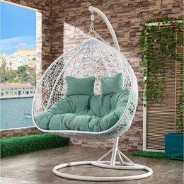Плетеная мебель - Подвесное кресло AFM-109A WhiteGreen, 0