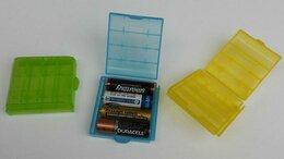 Батарейки - Бокс контейнер для хранения 4 батареек AA/AAA, 0