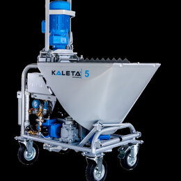 Инструменты для нанесения строительных смесей - Штукатурная станция Kaleta 5 (380В), 0
