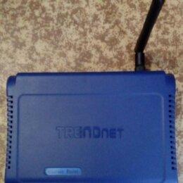 Оборудование Wi-Fi и Bluetooth - Беспроводной маршрутизатор (роутер) TRENDnet…, 0