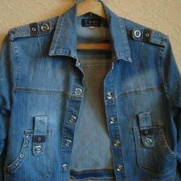 Куртки - продам  женскую  джинсовую  куртку  фирма  Годжи  размер  2хl, 0