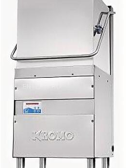 Промышленные посудомоечные машины - Купольная посудомоечная машина Kromo Hood 130S, 0