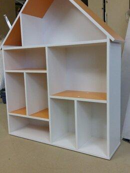 Хранение игрушек - Стеллаж шкафчик домиком. Дом полка домик шкаф А-1, 0
