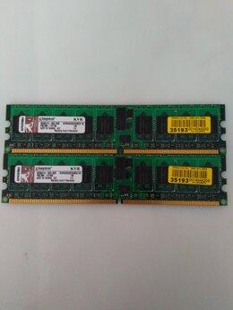 Модули памяти - Модуль памяти Kingston DDR2 DIMM 1 Гб PC-3200 …, 0