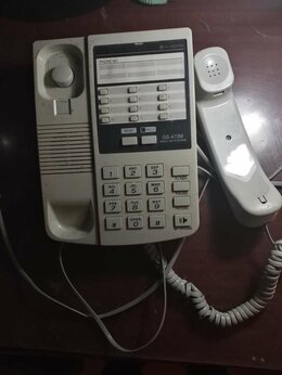 Проводные телефоны - Телефонный аппарат стационарный, 0