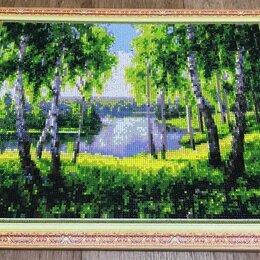 Картины, постеры, гобелены, панно - Картина пейзаж (алмазная живопись), 40x50 см, 0