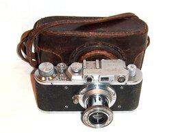 Пленочные фотоаппараты - Фотоаппарат Зоркий Zorki № 221224 Изготовлено в…, 0