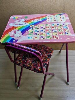 Качели, шезлонги - Детский складной стол и стул, 0