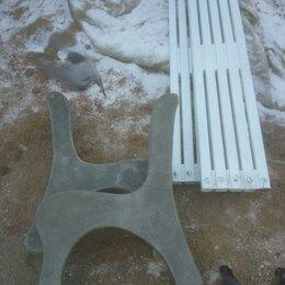 Скамейки - Боковины бетонные для скамеек, 0