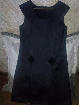 Комплекты и форма - Сарафан школьный(костюмная шерсть)от 134, 0