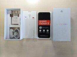 Мобильные телефоны - Смартфон Huawei nova 3 4/128gb. Новый, 0