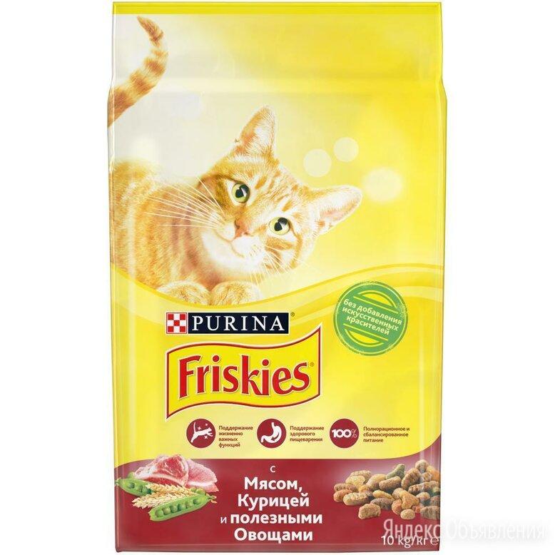 Friskies 10кг корм для кошек  по цене 1350₽ - Корма , фото 0