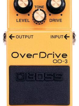 Процессоры и педали эффектов - Педаль Boss OD-3 OverDrive, 0