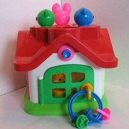 Развивающие игрушки - Логический теремок Полесье, 0