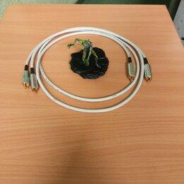 Кабели и разъемы - Кабель межблочный RCA - RCA Wire World Solstice 8, 1.5 м, пара (SOI1.5M-8), 0