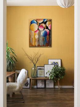 """Картины, постеры, гобелены, панно - Интерьерная картина """"Лес из одуванчиков""""…, 0"""