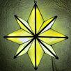 Ночник Вифлеемская звезда из витражного стекла по цене 15000₽ - Настенно-потолочные светильники, фото 9