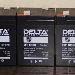 Аксессуары и запчасти - Аккумулятор для детского электромобиля DELTA 6V 6Ah, 0