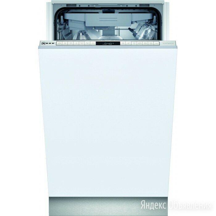 Встраиваемая посудомоечная машина Neff S855HMX50R по цене 35990₽ - Посудомоечные машины, фото 0