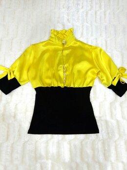 Блузки и кофточки - Атласная блуза 42-44 (новая!), 0