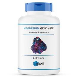 Настольные игры - Magnesium Glycinate 240 таблеток Магний SNT, 0
