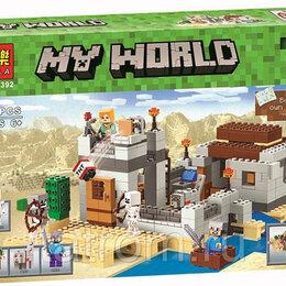 Игровые наборы и фигурки - Конструктор Minecraft My World «Пустынная станция», 0