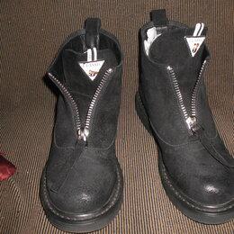 Ботинки - Ботинки женские из натуральной замши., 0