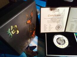 Монеты - коллекционная монета ГОД СОБАКИ-серебро, 0