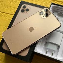 Мобильные телефоны - iPhone 11 Pro Max Gold 64gb новые Ростест, 0
