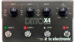 Процессоры и педали эффектов - Педаль эффектов для электрогитары TC Electronic…, 0