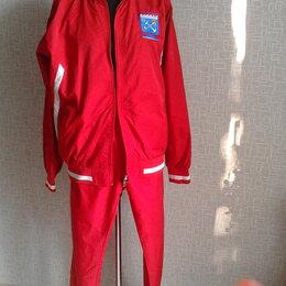 Спортивные костюмы - костюм спортивный мужской красный, 0