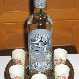 Подарочные наборы - Продаю оригинальную подставку под стопки и бутылку (из нержавейки), 0