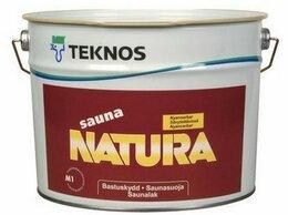 Масла и воск - Лазурь для защиты древесины Teknos Sauna Natura…, 0