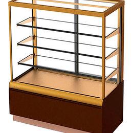 Холодильные витрины - Витрина кондитерская Carboma KC70 VM 0,9-1 (ВХСв - 0,9д Сube), 0