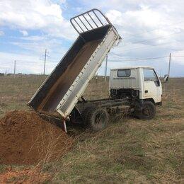 Строительные смеси и сыпучие материалы - Песок карьерный от 1 до 3 тонн с доставкой, 0