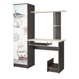 Компьютерные и письменные столы - Компьютерный стол с фотопечатью КС-001, 0