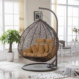 Плетеная мебель - Подвесное кресло AFM-109B Brown, 0