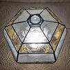 Сферический шестигранный ночник из витражного стекла. по цене 11000₽ - Ночники и декоративные светильники, фото 3
