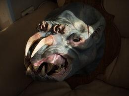 Рога, шкуры, чучела животных - Скульптура Монстр зомби. Декорация, 0