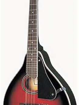 Щипковые инструменты - Caraya MA-002-BS Мандолина, цвет красный санберст, 0