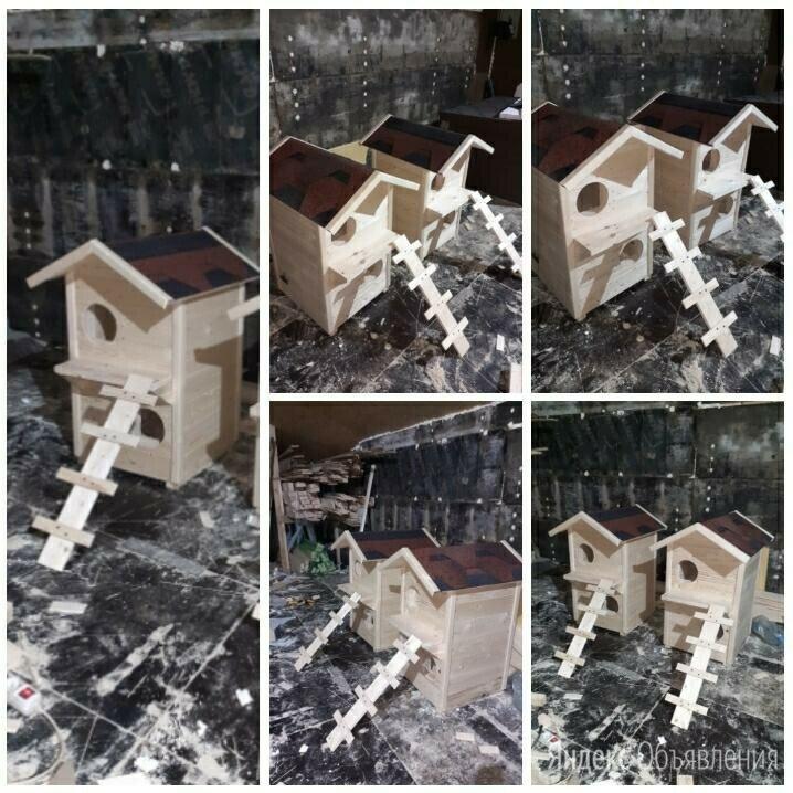 Домик будка для кошки  по цене 12500₽ - Когтеточки и комплексы , фото 0