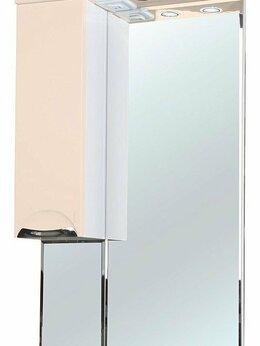 Зеркала - Зеркало-шкаф Bellezza Альфа 65 L бежевый, 0